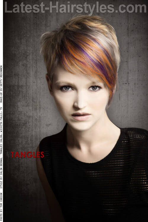 Short Modern Haircut for Women