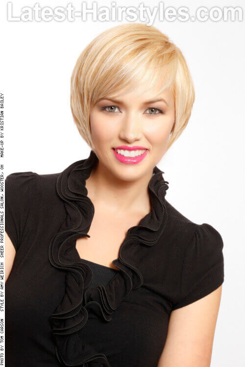 Short Textured Bob Haircut