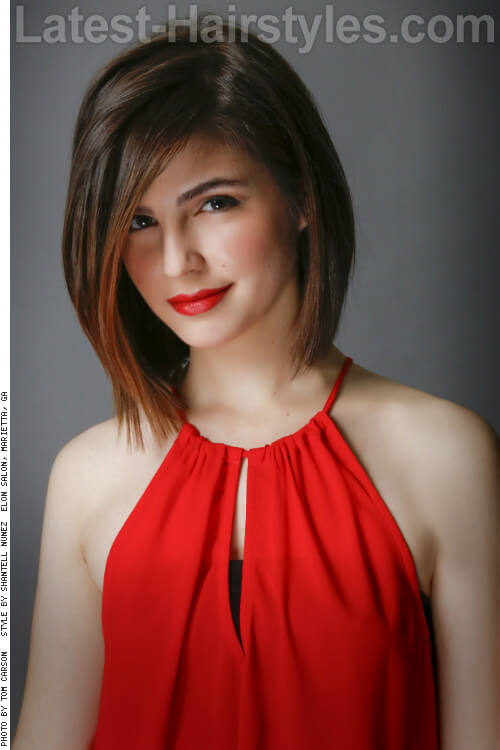 Magnificent 35 Fool Proof Hairstyles For Straight Hair Short Hairstyles Gunalazisus