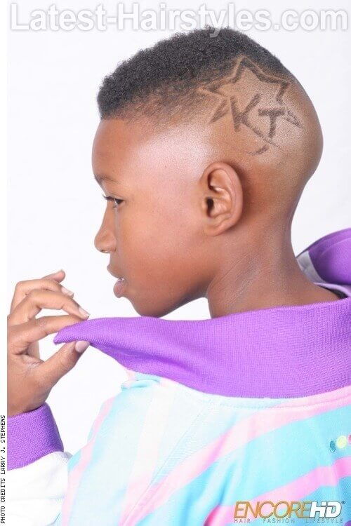 Tapered Bald Skinfade with Detailed Design