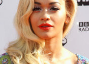 Rita Ora Hairstyles - Sexy Side-Swept Waves