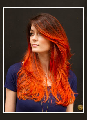 Urban Ombre Ecaille Hair Color