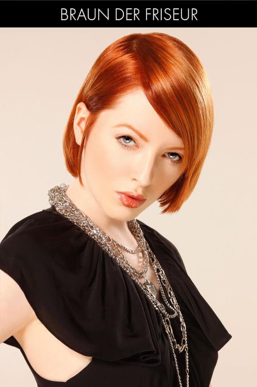 Warm Red Tonal Mix Haircolor