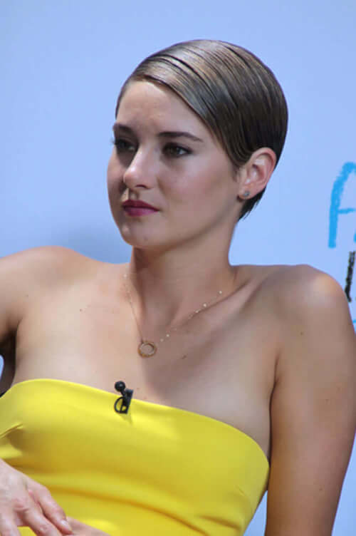 Shailene Woodley Sleek Short Haircut