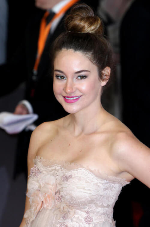 Shailene Woodley's 2012 Orange British Academy Film Awards - Arrivals