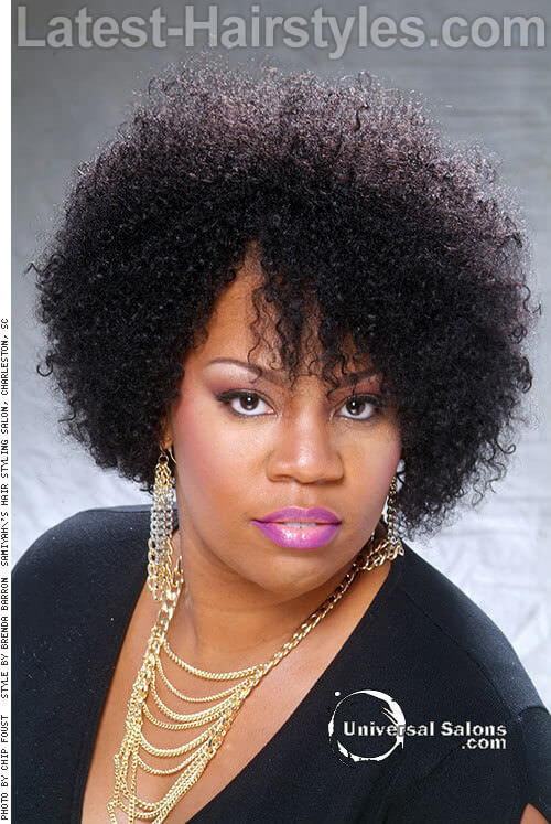 Afro Spiral Curls-Hairstyles for Brides 1