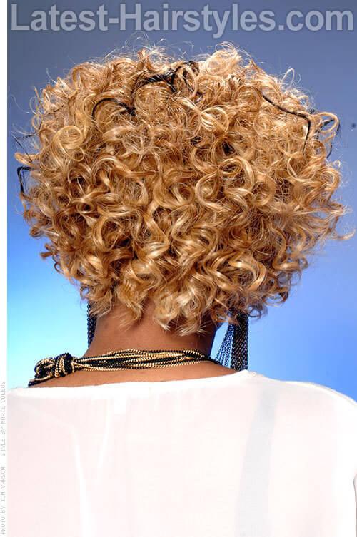 Angled Bob Cute Curls Angled Bob Hair Cuts 2