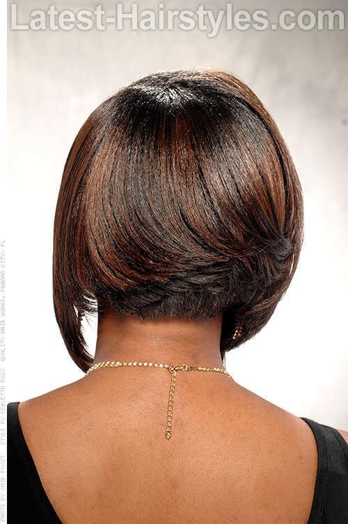 Asymmetrical Bob-Hairstyles for Brides 2