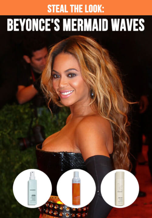The Most Romantic Mermaid Waves: A Beyonce Hair Tutorial