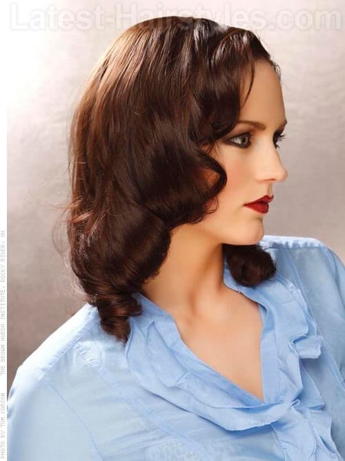 Classic 1950's Curls (Pinup Girl Look)-Hairstyles for Brides 2
