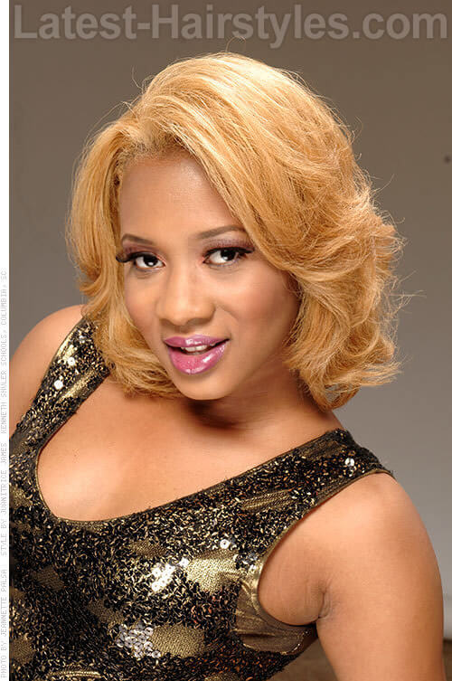 Are honey blonde hair color on black women have hit
