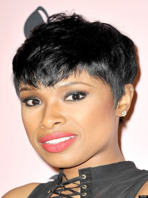 Jennifer Hudson Short Celebrity Hairstyle
