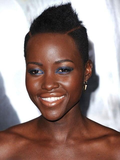 Lupita Nyong o - Short Celebrity Hairstyles