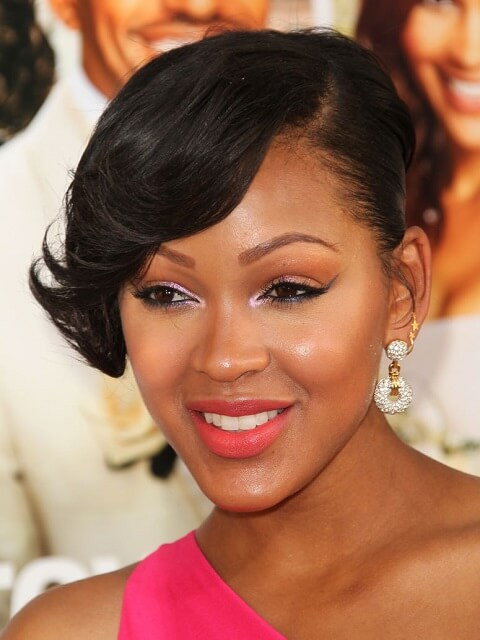 Meagan Good - Short Celebrity Hairstyles