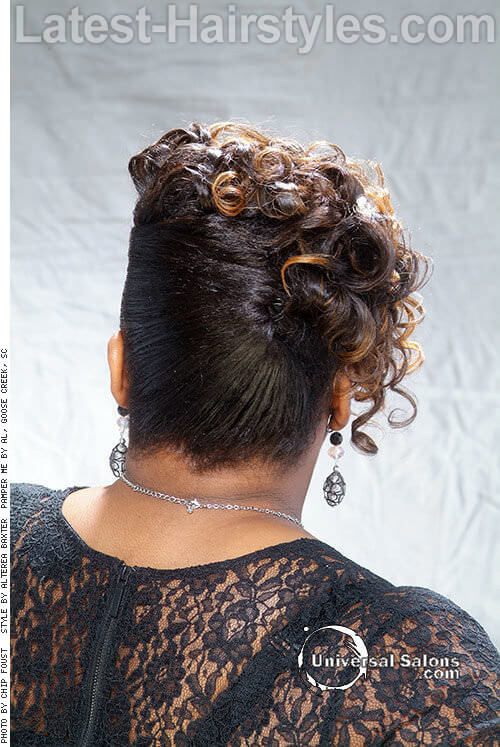 Cool The 25 Most Beautiful Updos For Medium Length Hair Short Hairstyles For Black Women Fulllsitofus