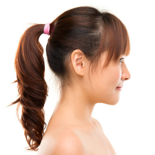 Playful-Ponytail-with-Fringe