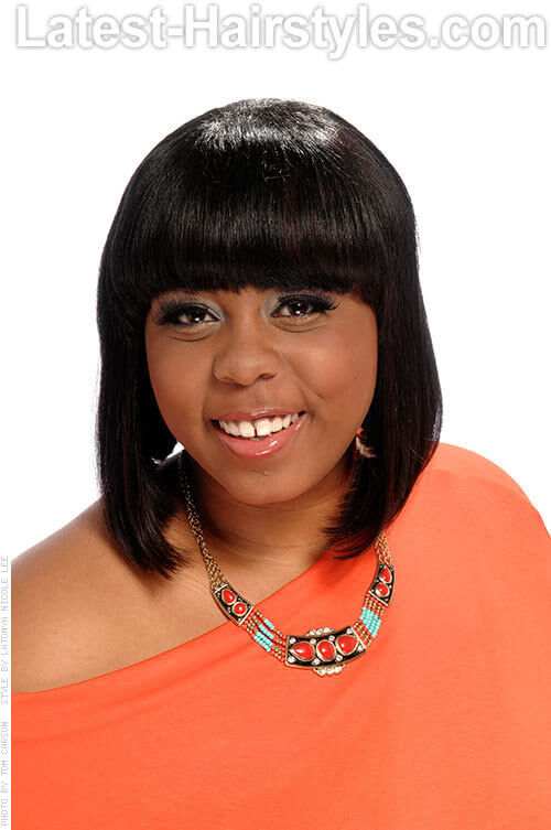 Terrific 20 Angled Bob Hairstyles For Black Women Hairstyle Inspiration Daily Dogsangcom