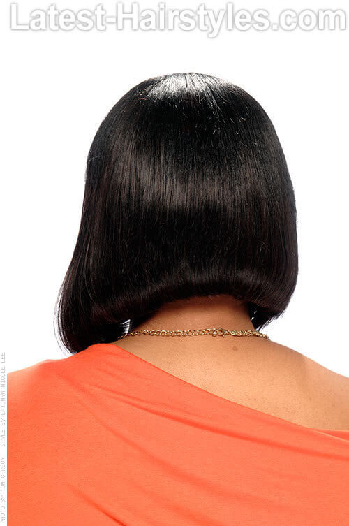 Slanted Mushroom Bob Angled Bob Hair Cuts 2