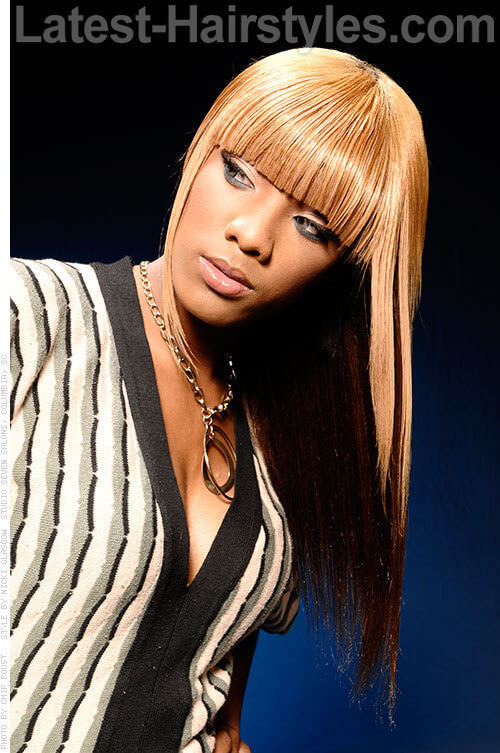 15 Black Girls With Blonde Hair Color Inspiration For
