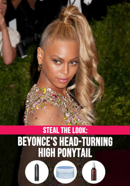 New Heights: A Chic Beyoncé Ponytail to Try