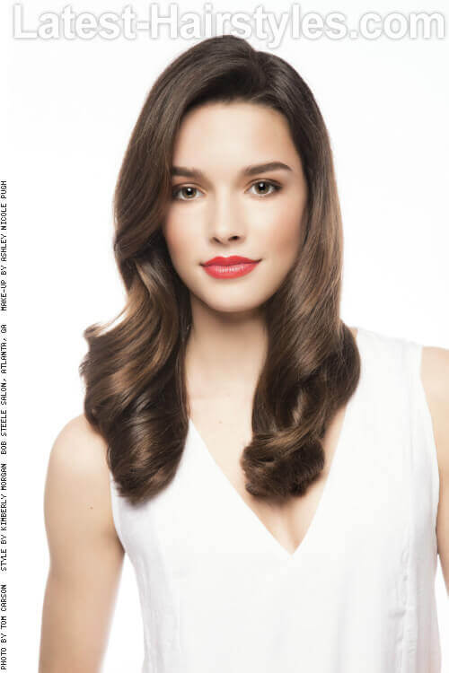Simple Classic Long Hairstyle