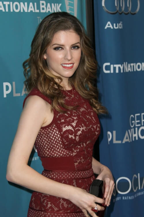 Anna Kendrick Curly Hairstyle