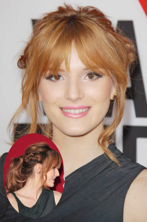 The Coolest Summer Braids - Bella Thorne Braided Ponytail