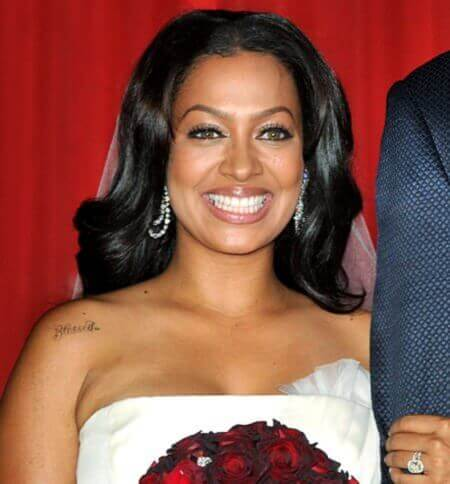LaLa Anthony's Wedding Hairstyle