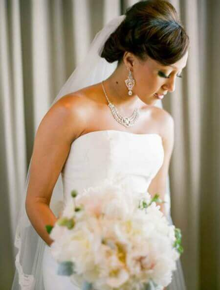 Pleasing 5 Celebrity Wedding Hairstyles For Black Women Saying Quoti Doquot Hairstyles For Women Draintrainus