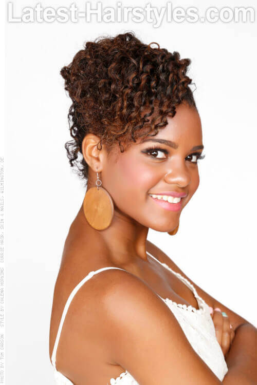 Beautiful Best Twist And Curl Natural Hairstyle For Beginners
