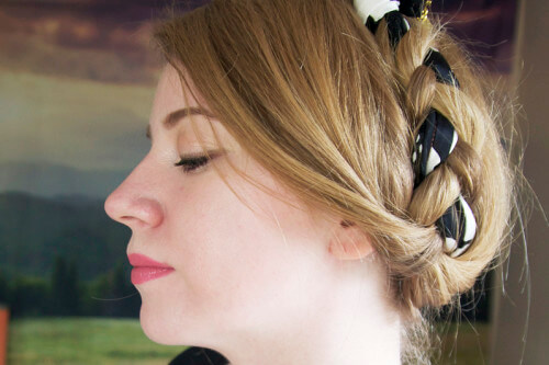 Milkmaid Braid With Headband