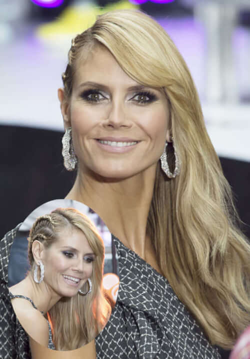 The Coolest Summer Braids - Heidi Klum