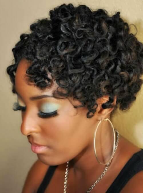 Retro Pin Curls