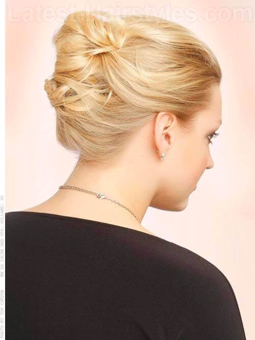 Classic French Twist Back