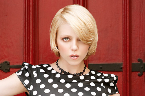 Hairstyle of the Month: Feisty Blonde Bob
