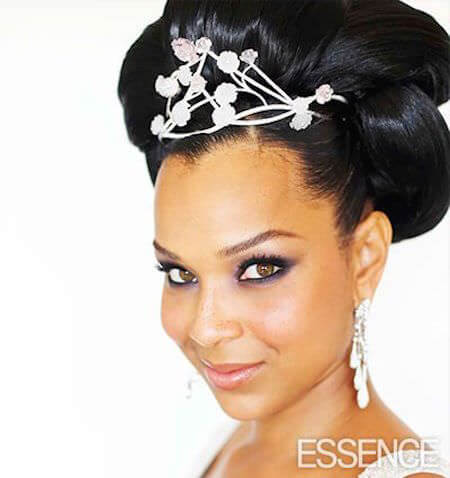 LisaRaye's Wedding Hairstyle