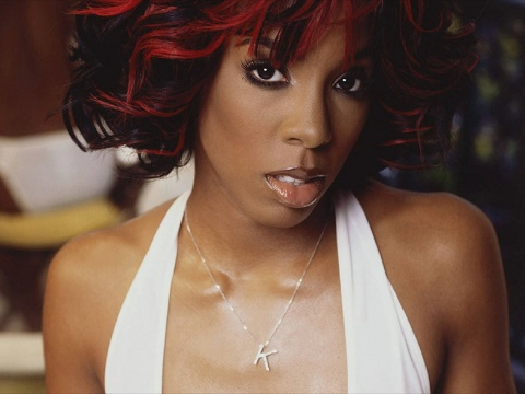 Kelly Rowland Red Highlights