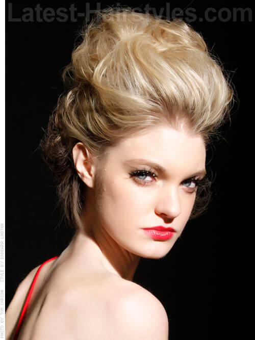 Soft Evening Hairstyle with Volume