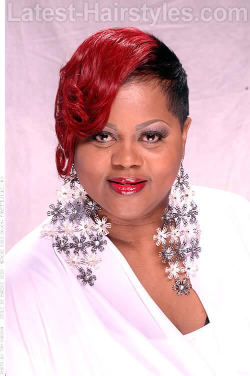 Fringe hairstyles for n american : Smokin red hairstyles for african american hair