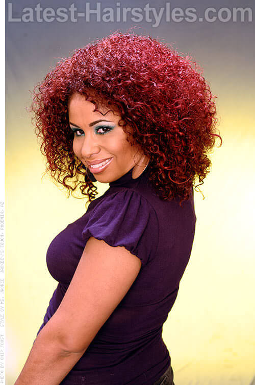 Ziggy Curls 2 Red Hairstyles For Black Hair