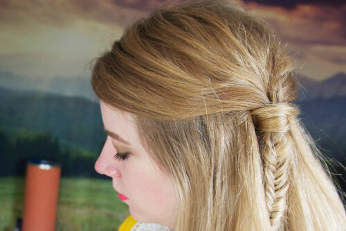 Latest Hair Styles Of Braids: Master The Half-Up Side Fishtail Braid In 3 Easy Steps