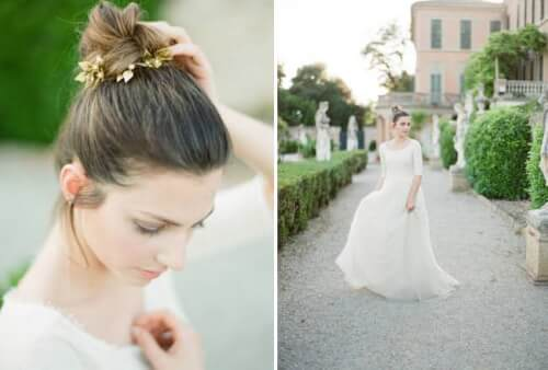 Fall Wedding Hairstyles - The Simple Twist