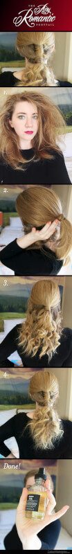 The Airy, Romantic Ponytail Tutorial