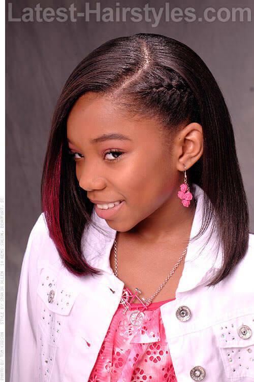 Burgandy Braid Babe Girl Hairstyles