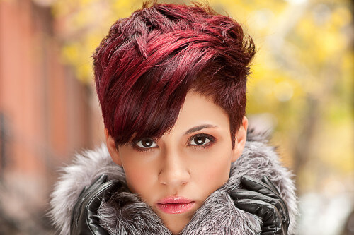 Hairstyle of the Month: A Rad Red Pixie