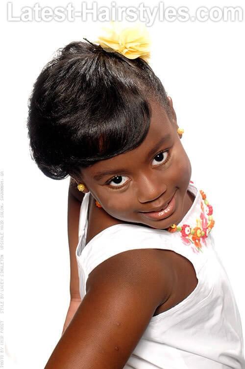 Pleasing Black Girl Hairstyles Hairstyles For Men Maxibearus