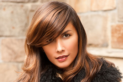 Hairstyle of the Month - Bouncy Brunette Blowout
