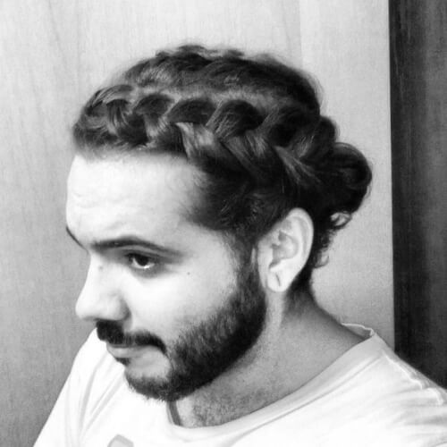 Man Braid Crown