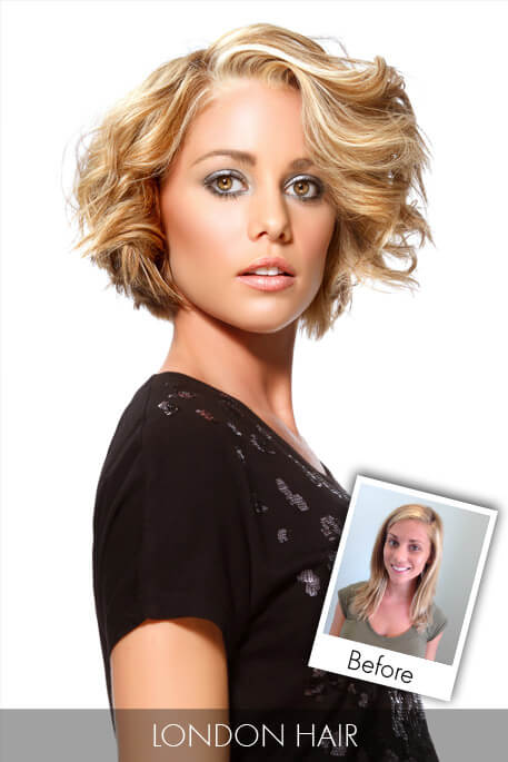 November Hair Makeover - Bombshell Blonde Bob