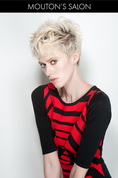 Short Edgy Hairstyle with Texture